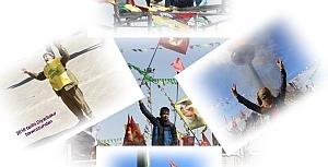 2016 tarihi Diyarbakır Newroz'undan